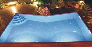 S rie 100 gerador caracter sticas de uma l mpada de fibra for Iluminacao na piscina e perigoso